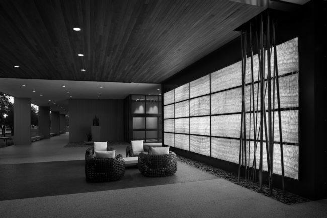 UofH Hilton Onyx Wall