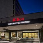 UofH Hilton Porte Cochere