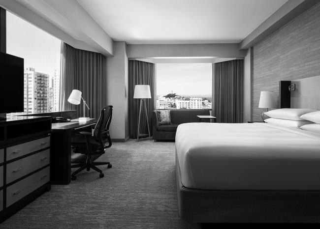 JW Marriott San Francisco Guest room renovation