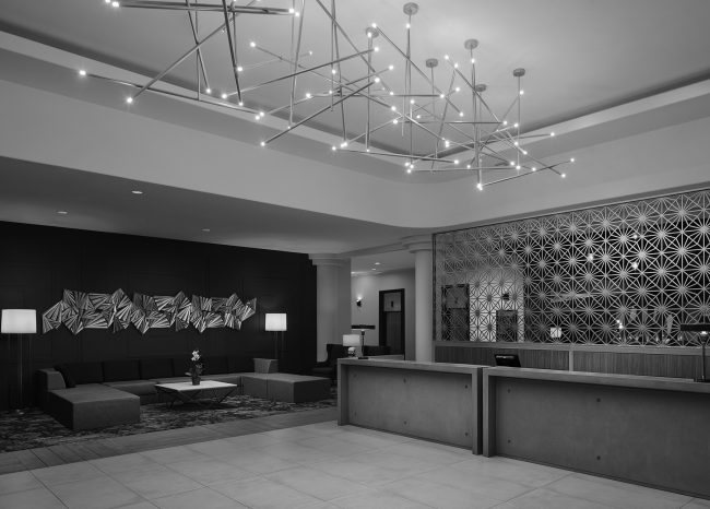 Embassy Suites South San Francisco Public spaces renovation